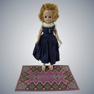 Vintage 1950s Vogue Jill Walker Doll with Tagged Dress