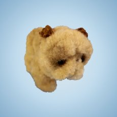 Adorable Pipe Cleaner Shar-Pei Dog for your Animal Loving Doll!