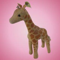 Sweet Old Charming Vintage Steiff Giraffe