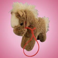 """Cute 6"""" Steiff Pony for your Lucky Doll"""