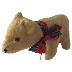 Wonderful Old Antique Stuffed Polar Bear