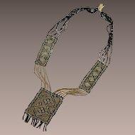 Vintage 1920's Flapper Era Beaded Necklace