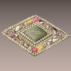 Victorian Sea Shell Folk Art Box