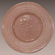 American Majolica Etruscan Classical Series Plate