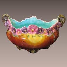 Art Nouveau Majolica Planter Or Bowl