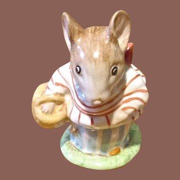 Beatrix Potter Figurine, Mrs. Tittlemouse