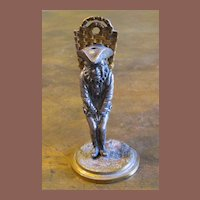 Early 19th Century Mixed Metal Figural Match Strike