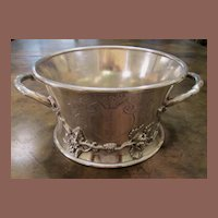 Art Nouveau Silver Plate Magnum Wine Holder