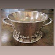 Art Nouveau Silver Plate Magnum Wine Holder