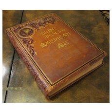 Antique Art Book, Recent Ideals Of American Art, 1890