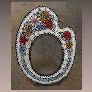 Antique Micro Mosaic Frame, Circa 1900