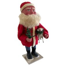 1930-40 German Woodcutter Santa Candy Container