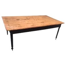 19th Century Farm House Table - GREAT - Pick Up Only