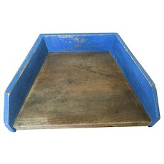 19th Century Herb Board - Blue
