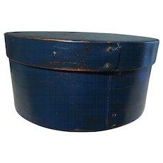 "19th Century ""Shaker"" Blue Pantry Box"