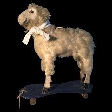 19th Century Sheep on Wheels - Fabulous
