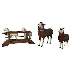 Great Collection of Early Sheep Brown/White and Early German Bridge