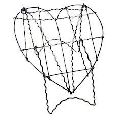 19th Century Wire Heart -