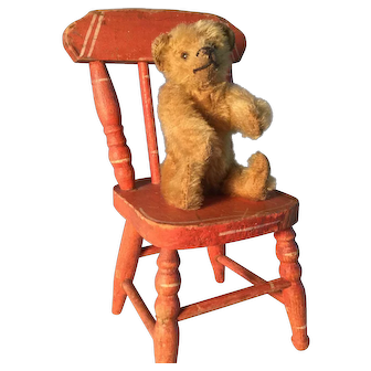 Early Small Steiff Bear (with button)