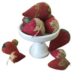 Dozen Antique Strawberry Emeries - BEST