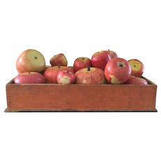 Dovetailed Bittersweet Table Box/Filled With Wonderful Apple Collection