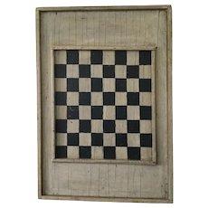 19th Century Large Black/White Game Board
