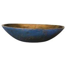 19th Century Blue Bowl