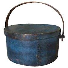 19th Century Swing Handle Pantry - Beautiful Blue