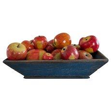 Beautiful 19th Century Apple Tray/Apples