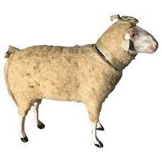 19th Century Large Candy Container Sheep