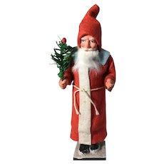 19th Century Pristine Candy Container Santa