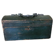 19th Century Dome Top Document Box - Unusual and Great