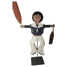 19th Century - Great - Sailor Whirligig