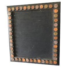Great Folk Art - Bottle Cap Black Board