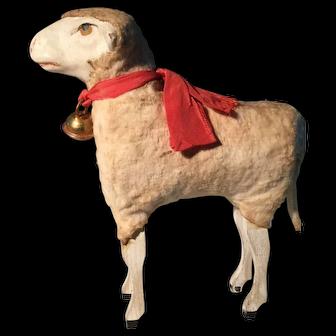 Antique German Sheep 19th Century - LARGE