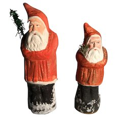 Pair of Red Belsnickles - 19th Century from Germany