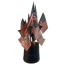 Patriotic Bouquet of Horns/Flags - Get Ready For Summer