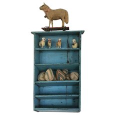 Beautiful Blue Shelf
