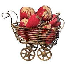 19th Century Wire Buggy - 11 Early Strawberry Emeries