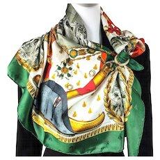 Hermes Scarf Napoleon Silk Bee Jacquard