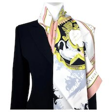 Hermes Silk Scarf Le Bois de Boulogne - Early Issue GRAIL