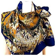 Grand Cortege a Moscou Hermes silk scarf NIB