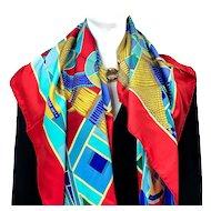 L'Art Indien des Plaines Hermes Silk Scarf UNWORN