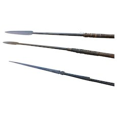 Antique African and Oceanic Spears