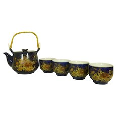 Tea Set Porcelain Japan Tea Pot with 4 cups