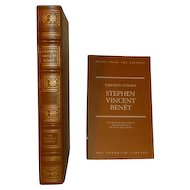 Thirteen O'Clock, Stephen Vincent Benet, Franklin Library Leather Bound
