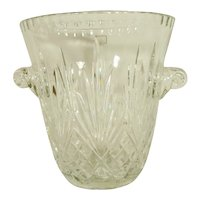 Crystal Ice Bucket Handcut Full Lead NEW