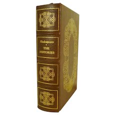 Shakespeare The Histories Leather Bound Easton Press