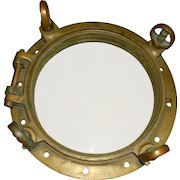Ships Port Hole Antique Heavy Brass/Bronze