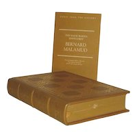 Leather Bound Book, Bernard Malamud, The Magic Barrel, Idiots First Collectors Edition